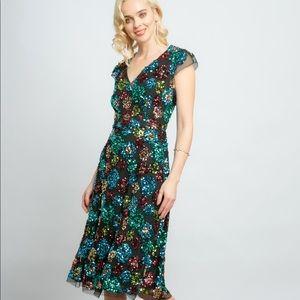 NEW Glenna Eva Franco Anthro sequin dress 24W nwt